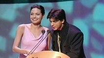 Shahrukh Khan, Angelina Jolie Walk Hand In Hand At IIFA Awards (FLASH BACK)