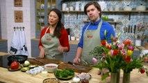 Mitt kök: Curry med räkor och spenat - Nyhetsmorgon (TV4)