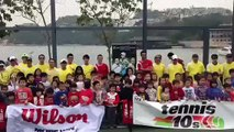 Happy World Tennis Day  from HONG KONG 360p Funny Game