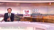 JT 20 heures France 2 - Laurent Delahousse gaffe sur Laurent Ruquier et sa grosse tête