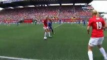 Norveçli futbolcuların selfie'li gol sevinci