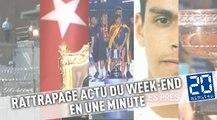 VIDEO. Roland-Garros, Turquie,Baça, attentat en France, prisonniers évadés…L'actu du week-end