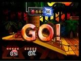SSB64:Mario Vs Donkey Kong ( round 1 )