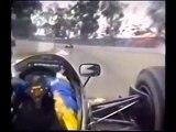 F1 JPS Lotus 98T, onboard lap, Adelaide 1986
