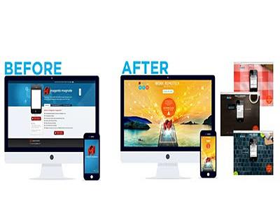 Online Trading Website Redesign