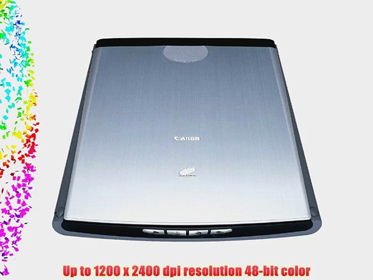 Verbazingwekkend Canon CanoScan LiDE 50 Color Scanner - video dailymotion TR-73