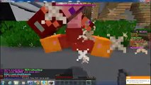 10 year old Evanator wins Nexus server Survival Games!! TNT for days!!