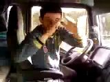 El camionero bailón