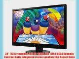 ViewSonic VA2445M-LED 24-Inch Screen LED-Lit Monitor