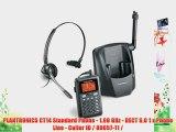 PLANTRONICS CT14 Standard Phone - 1.90 GHz - DECT 6.0 1 x Phone Line - Caller ID / 80057-11