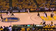 Klay Thompson's First Qtr Highlights - Cavaliers vs Warriors - Game 2 - June 7, 2015 - NBA Finals