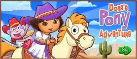 Dora the Explorer Full Gameisodes for Children - Dora the Explorer Dora's Pony Adventure!