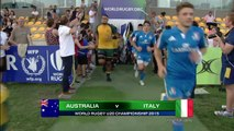 HIGHLIGHTS Australia 31-15 Italy at World Rugby U20s