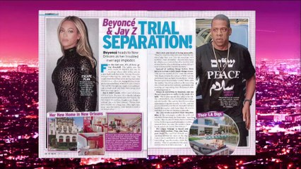 Extra Hot T: Beyonce & Jay Z Trial Separation?