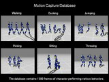 Human Motion Synthesis with Optimization-Based Graphs