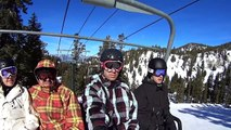 Lake Tahoe Snowboarding 2013 - Sony Action Cam