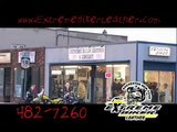extreme biker leather commercial