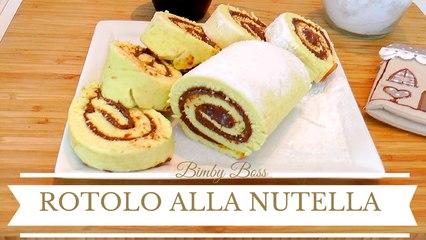 Bimby   Thermomix - Rotolo Alla Nutella