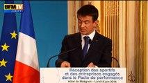 """Déplacement polémique à Berlin: """"Parfois en France, être passionné, ça gêne"""", dit Valls"""