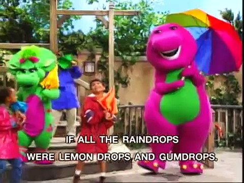 Barney - If All The Raindrops Song