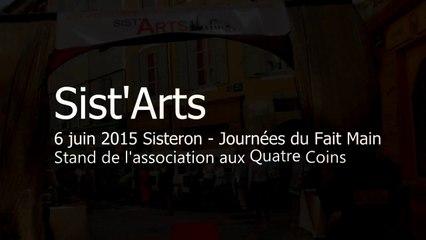 Stand Sist'Arts - Journées du Fait Main 6 juin 2015