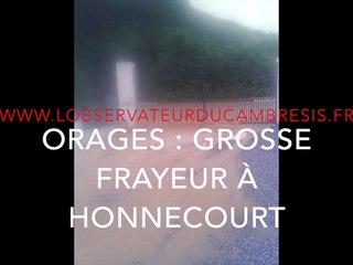 Soir d'orage à Honnecourt-sur-Escaut