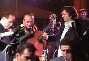 The italian prime minister Berlusconi sings a french song