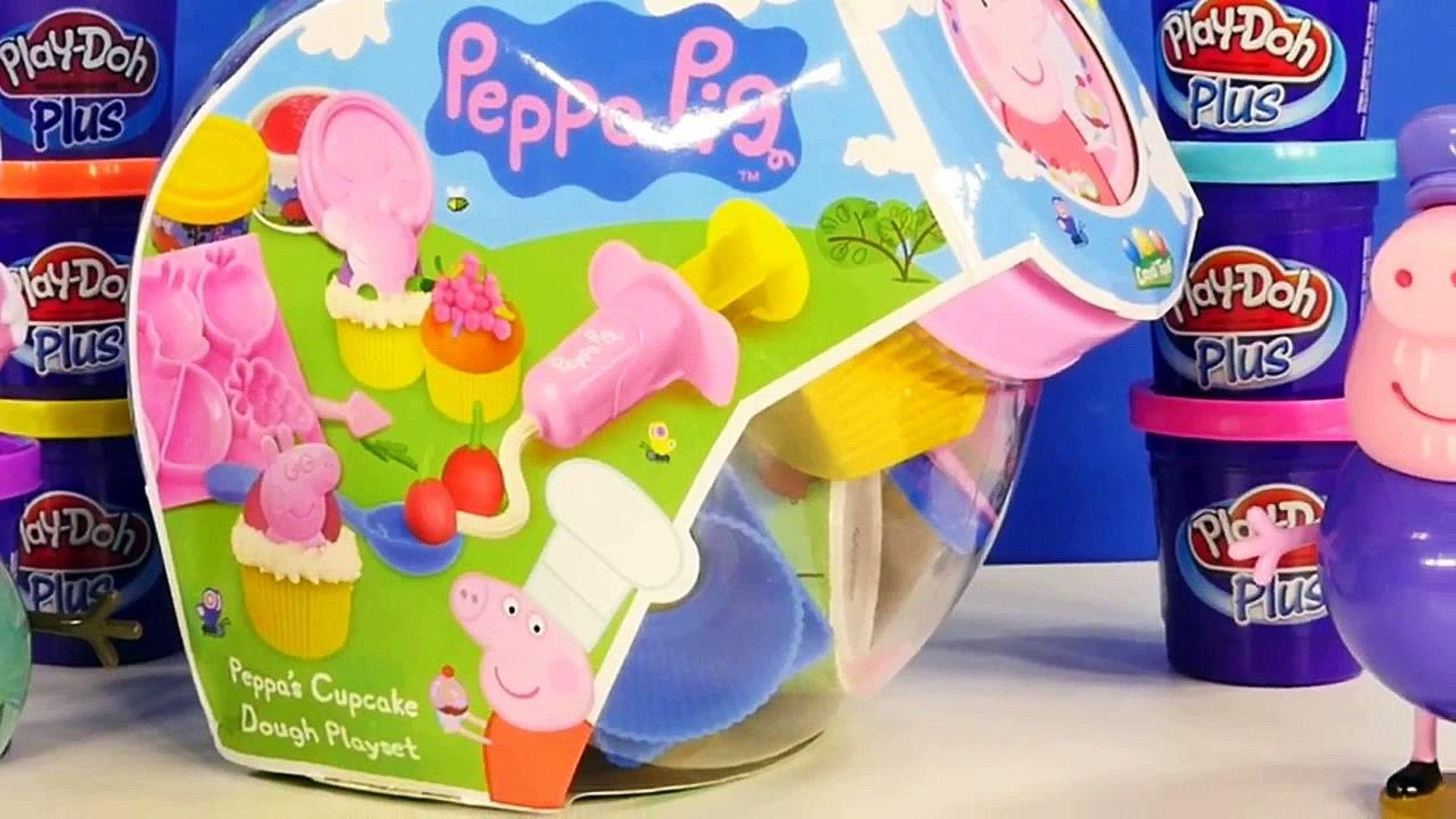 Peppa Pig Play doh جمع الكعك اللعب العجين Playset