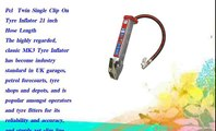Pcl  Twin Single Clip On Tyre Inflator 21 inch Hose