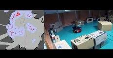 Robot navigation using Kinect as sensor, RISE Robots, IITM