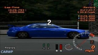 Gran Turismo 2 60 FPS B 3 Nissan Skyline GT R V Spec R34 323