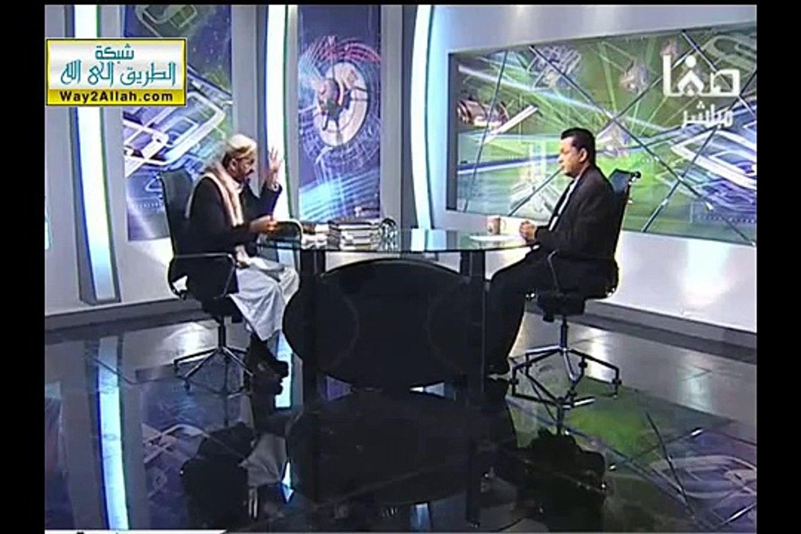 الشيخ الوصابي يعطي حسن المالكي درساً في الأمانة العلمية I رواية  إذا وجدتم معاوية على منبري فاقتلوه
