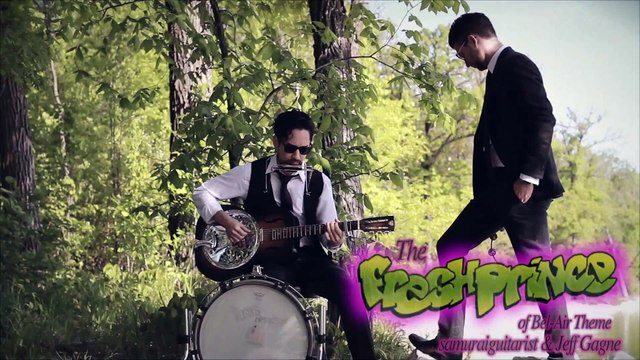 Will Smith The Fresh Prince of Bel-Air Theme Blues Cover