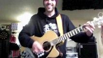 Reprise de Highway To Hell d'AC/DC avec une guitare/batterie : DINGUE!!!!