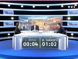 Début du débat présidentiel entre Nicolas Sarkozy et Ségolène Royal (2007)