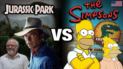 Jurassic Park VS The Simpsons (VO) - WTM