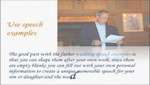 Father Wedding Speech - Ideas For Wedding Speeches and Toasts