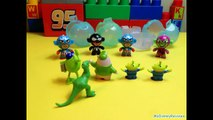 Little Green Men | Toy Story | Avengers | Cartoon | Funny Educational Toys | For Kids