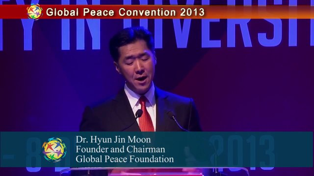 Dr. Hyun Jin Moon Urges for a United Nations Faith Based Council