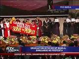 UP grads protest during graduation ceremonies