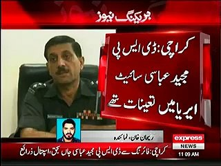 Police Rule of wearing hemlet for Karachi bikers working for Target killers - DSP Majeed Abbas shot dead by bikers wearing hemlets in Karachi