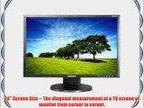 Samsung 2443BWT-1 23.6-Inch LCD Monitor - Matte Black