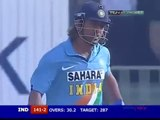 MS Dhoni destroying Pakistani bowlers 7756 India v Pakistan 5th at Karachi 2006 2