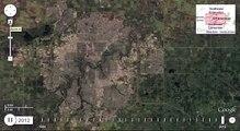 Edmonton, Alberta 30 Year timelapse
