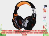 Kingtop Each G2000 Gaming Headphone with USB and Audio Jack Dual Input for Computer Pc Laptop