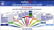 myDoc3D - Présentation générale - Logiciel de gestion de documents (GED) pour les TPE