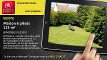 A vendre - maison - WIMEREUX (62930) - 6 pièces - 115m²