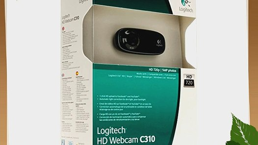 Logitech 960-000585 WEBCAM C310 HD 720P W/MIC/5MP CAMERA/5FT USB 2 0 CABL  XP/VISTA/7 - video dailymotion