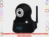 HooToo? HT-IP211HDP Megapixel HD 1280 x 720p H.264 Wireless/Wired Pan/Tilt IP Camera with IR-Cut