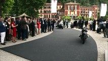 Concorso D'Eleganza Villa D'Este 2015 - BMW Motorrad Concept 101 and BMW 3.0 CSL Hommage